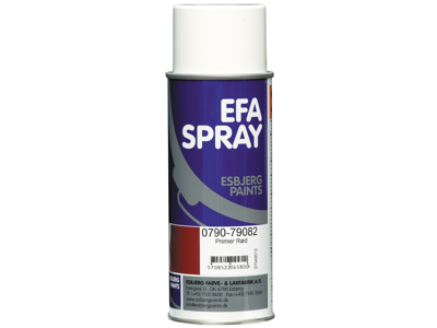 Esbjerg paint Efaspray primer rød 400 ml
