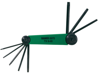 Bahco Stiftnøglesæt TX9 - 40 BE-8975