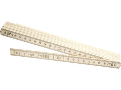 Tajima Adga trætommestok mm 10 led 2m