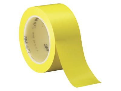 Vinyltape 471 gul 50mm