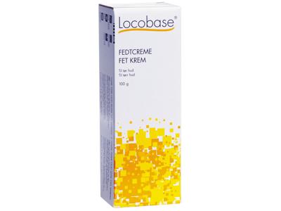 Locobase fedtcreme 100 g