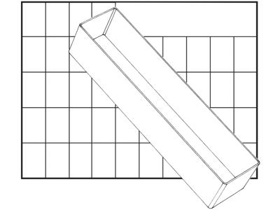 Indsats 80 BA8-3 69×55×235 klar