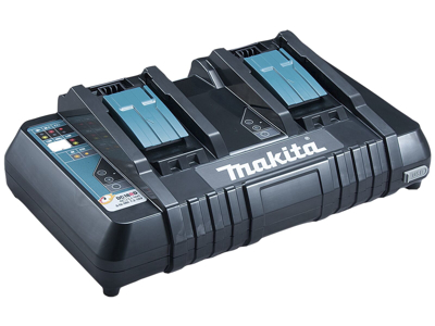 Makita Lader 2-port + USB-stik DC18RD