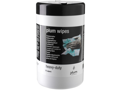 PlumWipes Heavy-Duty pk/50 stk