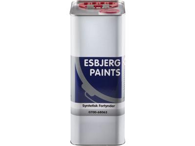 Esbjerg paint syntetisk fortynder 5 ltr