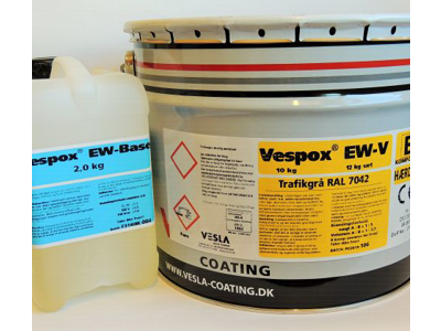 Vespox EW-V, sæt, 1:5Ral 7038 AgatGrå 12