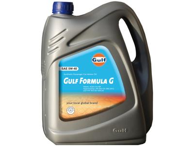 Gulf Formula G 5W-40 4 ltr.