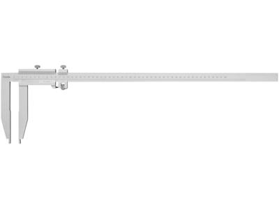 Diesella Skydelære 0-500 × 0,05 m/finindst.