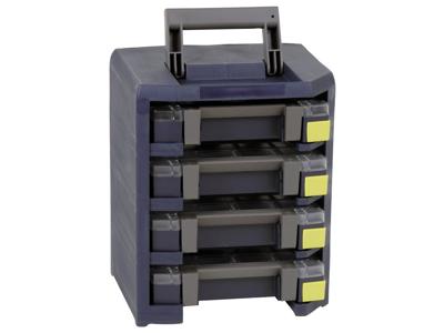 Raaco HandyBoxxser 4x4x4 342×290×247 blå