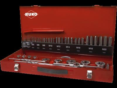 Ruko Gevindværktøjssæt 54 dele M3-20