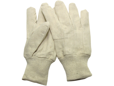 Cottonman handsker 12 par str 10