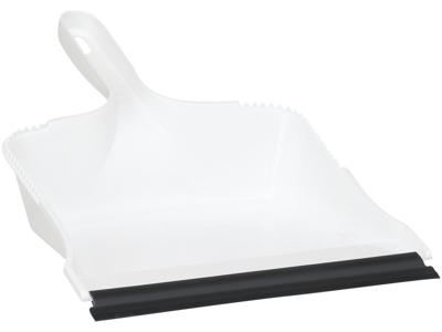 Vikan Fejebakke m/gummilæbe 210 mm Hvid