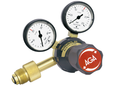 AGA Regulator Unicontrol 500HT Acetylen