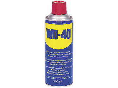 WD-40 400 ml. Spray i display