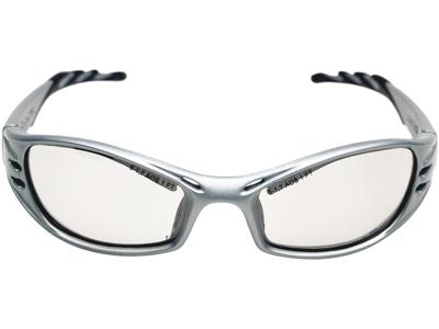 Fuel sikkerhedsbrille grå/sølvlinse