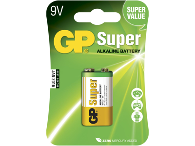GP Batteri 1604A 6LF22 9V