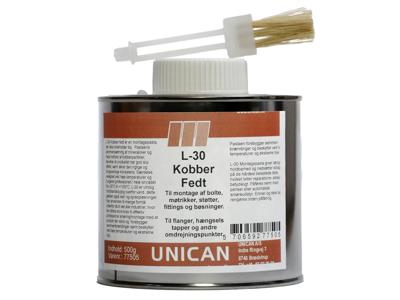 Unican L-30 kobberfedt 500g
