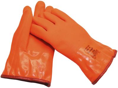 Snowflake PVC handsker m/rib 418-10