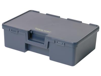 Solid 3 opbevar.box 170×570×370 blå