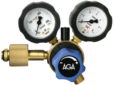 AGA Regulator Fixicontrol oxygen 0-4bar