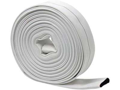 Brandslange hvid 76mm