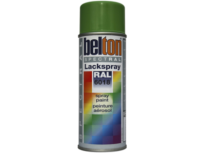 Belton spray 324 gulgrøn RAL6018