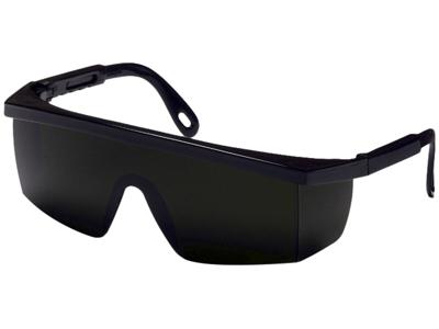 Integra sikkerhedsbrille sort 5,0IR