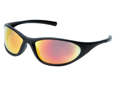 Pyramex ZoneII Sik.brille sort/oran