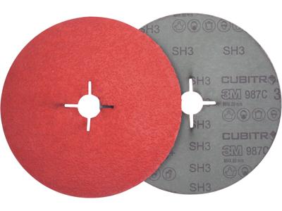 3M Cubitron II fiberrondel 987C P36 125mm