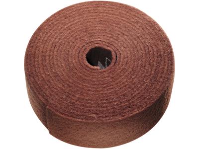 Tyrolit Vlies i rulle 100mm×10mtr, rødbrun A medium