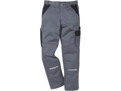 Icon bomuld bukser grå/sort C52