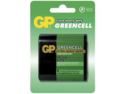 GP Batteri Greencell 312G 3R12 4,5V