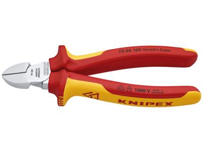 Knipex Skævbider 1000V VDE 70 06 160 mm