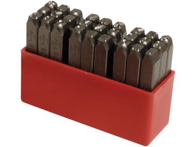 Peddinghaus Stålbogstavsæt 7268 i plastbox 6 mm