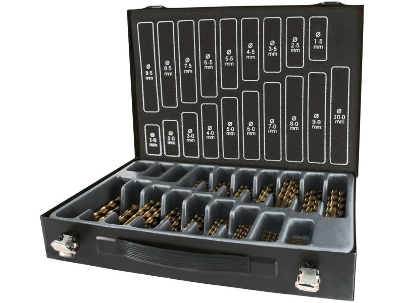 Ruko Borkuf.170 stk HSS-Co5 1-10×0,5mm
