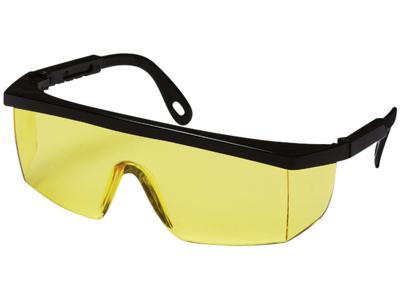 Integra sikkerhedsbrille sort/gul