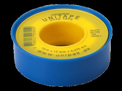 Pakningstape PTFE 12×0,075mm×12m