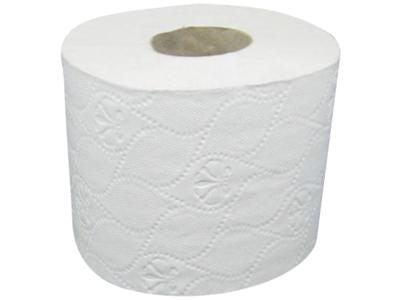 Toilet papir 3-L hvid nyfiber 72 rl