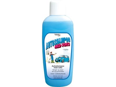 Autoshampoo m/voks 1 L