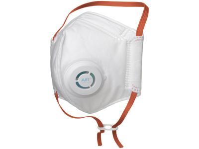 Air+ FFP3 støvmaske m/ventil, pk/10