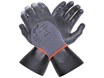 OS grip handske med dot