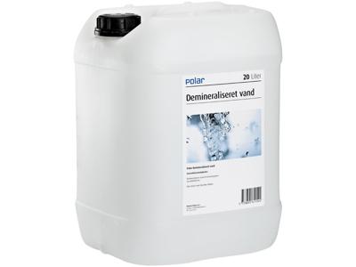 Polar demineraliseret vand 20 L