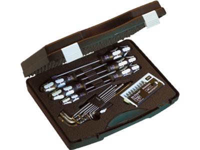 Wera Rf.Værktøjssæt i kuffert - 3 stk