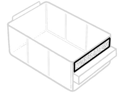 Raaco Etiket 150-02 18×87 hvid ps/24