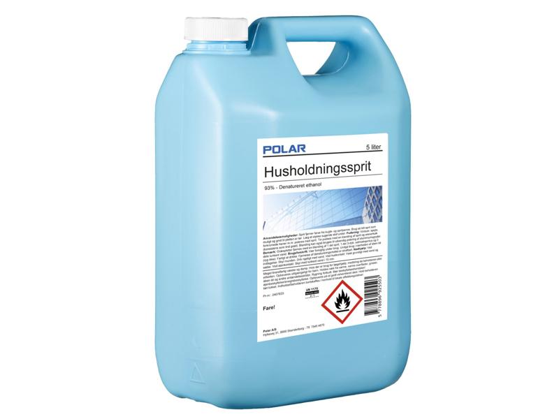Polar husholdningssprit 5 Liter