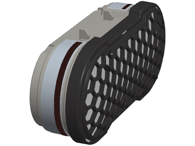 CleanSpace kombi-filter A2P3