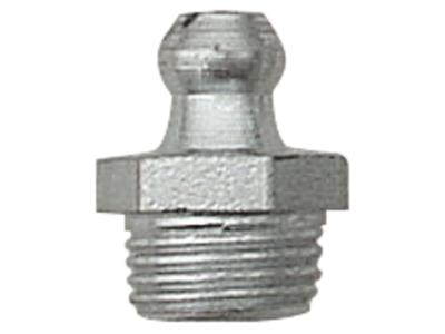 Smørenippel rustfri H1 M6×1,0
