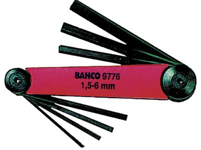 Bahco Unbrakonøglesæt BE-9776 1,5-6 mm
