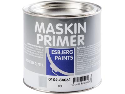 Esbjerg paint Maskinprimer grå 3/4 ltr
