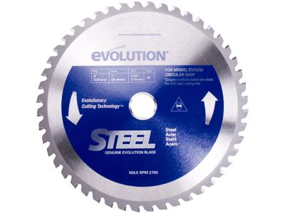 Evolution 230 TCT stål klinge